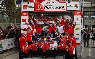 WRC第3戦ポルトガル/デイ3:オジエ、今シーズン初勝利!