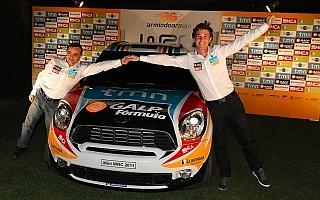 アルミンド・アラウジョのMINI S2000をお披露目