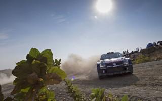 WRCメキシコ:首位はオジエ、復帰のタナクは再リタイア