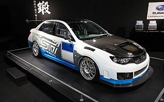 大阪オートメッセで、ニュル24時間参戦インプレッサを展示