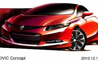 【Honda】2011年北米国際自動車ショーに「シビック コンセプト」を出展