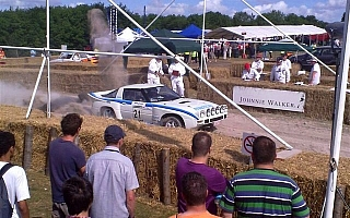 RX-7グループBラリーカーがグッドウッドに登場