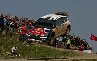 WRC第4戦ラリートルコ デイ1:未経験の道をシトロエンの若手セバスチャン・オジエがリード