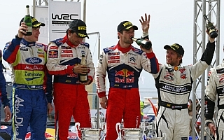WRC第3戦ヨルダンラリー デイ3:ローブが今季2勝目。2ワークスの出走順をめぐる攻防が激化