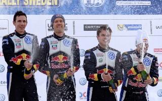 WRCスウェーデン:ポスト会見「あいつは近いうちに必ず勝つ」