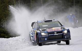WRCスウェーデン:VWのオジエが逆転優勝!