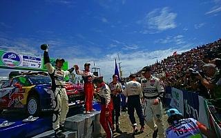 WRC第2戦ラリーメキシコ デイ3:危なげなくローブが勝利。ペター・ソルベルグは2位