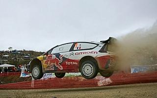 WRC第2戦ラリーメキシコ デイ2:圧倒的な差でローブがトップを快走