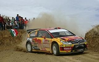 WRC第2戦ラリーメキシコ デイ1:ペター・ソルベルグが2番手に15秒差で首位