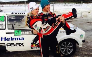 ペター、WRCスウェーデンのヒストリック部門でV3!