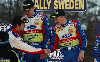 WRC第1戦ラリースウェーデン終了! 勝者はミッコ・ヒルボネン