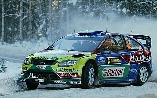 WRC第1戦ラリースウェーデン デイ1:6秒差でヒルボネンがローブをリード