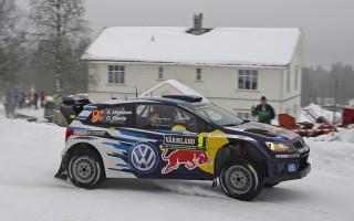 WRCスウェーデン:競技2日目を終えVWのミケルセンが首位