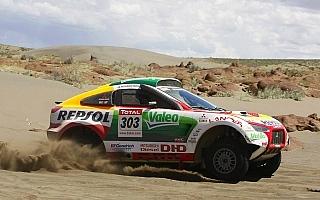 レーシングランサー健在 2010年ダカールラリーにプライベーター5台が出走