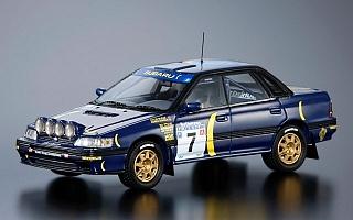 【SUBARU-STI】1/43レジン製モデルカー「レガシィRSグループA 1993」数量限定発売