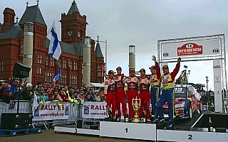 WRC第12戦ラリーGBデイ3:ヒルボネンのトラブルでローブが6連続タイトル決定。PWRCは新井が2位