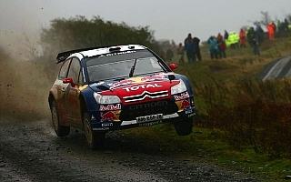 WRC第12戦ラリーGBデイ2:ローブがスパート、ヒルボネンとの差を拡大