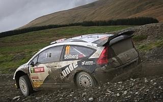 【速報】WRC第12戦ラリーGB デイ2 SS8