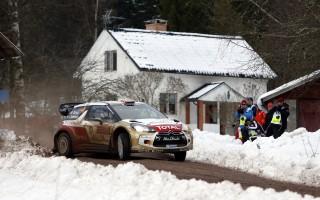シトロエン、WRCスウェーデンはマッズとクリス