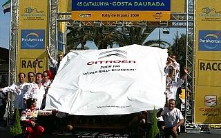 WRC第11戦デイ3:ローブ優勝、シトロエンが1-2でマニュファクチャラーズタイトルを獲得