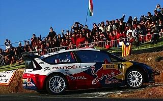 WRC第11戦スペイン デイ2:シトロエンが1-2-4-5でローブが首位に。ヒルボネン孤軍奮闘の3番手