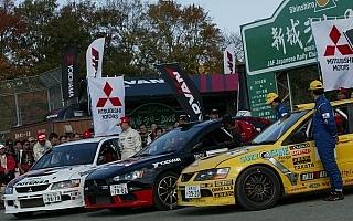 全日本ラリー第7戦新城ラリー2009のエントリーリストが公開