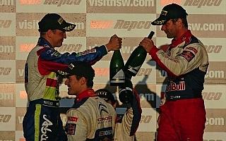 ポイントランキング:WRC第10戦オーストラリア終了時