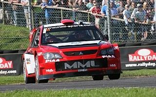 アリスター・マクレー、MMLのWRカーとエボXをドライブ