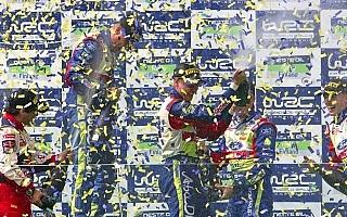WRC第9戦フィンランド デイ3:力と力の真っ向勝負で競り勝ったヒルボネンが母国初優勝