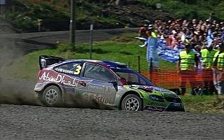 WRCフィンランド デイ2:ヒルボネンがリードを拡大、母国ウインへ近づく。無念ライコネン転倒リタイア