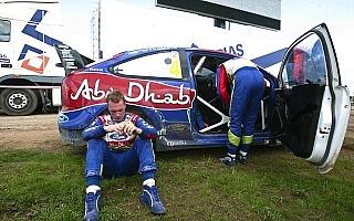 """WRC第8戦:ヒルボネン優勝も、ラトバラ""""あり得ないリタイア""""で暗いポーランドの表彰台"""