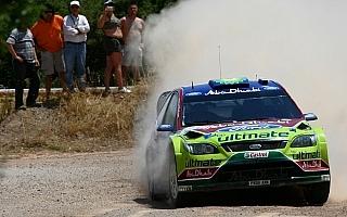 WRCアクロポリス・デイ1:ラトバラのコースアウトでヒルボネンが首位に