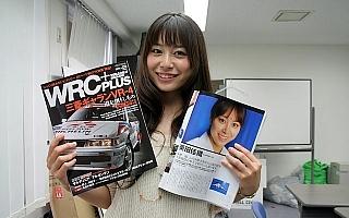J SPORTSでおなじみ、栗田佳織チャンが編集部にキター!