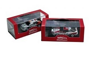 なんとWRC PLUSオリジナルのミニカーが発売されます!