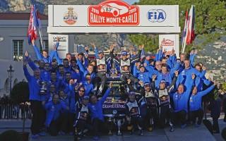 WRCモンテ:デイ4コメント「大好きな仲間とポディウムをシェアできた」