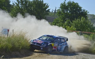 WRCポーランド:シェイクダウンでミークが転倒、トップタイムはオジエ