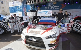 ERCエストニア、ランサーのルキヤナクがR5マシンを振り切りERC初優勝