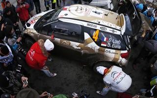 WRCモンテカルロ2日目、ローブまさかのストップ!