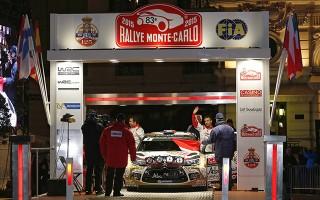 WRCモンテカルロ初日、セバスチャン・ローブが首位発進