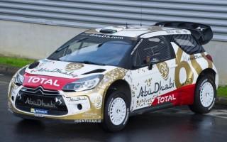 2015年型DS3 WRCはスプリッター付き?