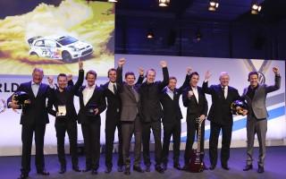 WRC連覇のVWが祝賀パーティ