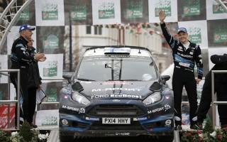 WRC英国ポスト会見「あの右コーナーが最後のコーナー」