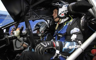 WRC英国:デイ2「途中までは3位でも構わない」