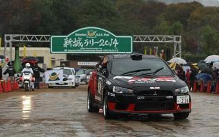 全日本ラリー新城:雨がもたらした大荒れのデイ1