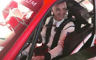 WRCフランス:WRCプレ会見、デルクールも出席
