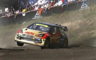 世界RXドイツ、ペターが中間トップ