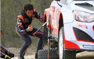 WRCオーストラリア:デイ1「自分自身に腹が立った」