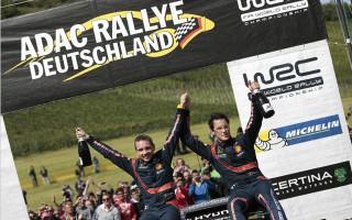 WRCドイツ:デイ3「クラッシュしたマシンを見事に直してくれた」