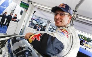 WRCドイツ:デイ1「一瞬アクセルを踏む足が緩んだ」