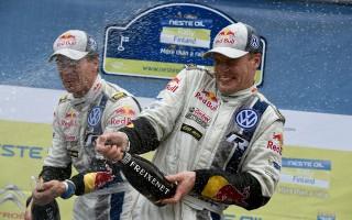 WRCフィンランド:デイ4「今回は2倍うれしい」